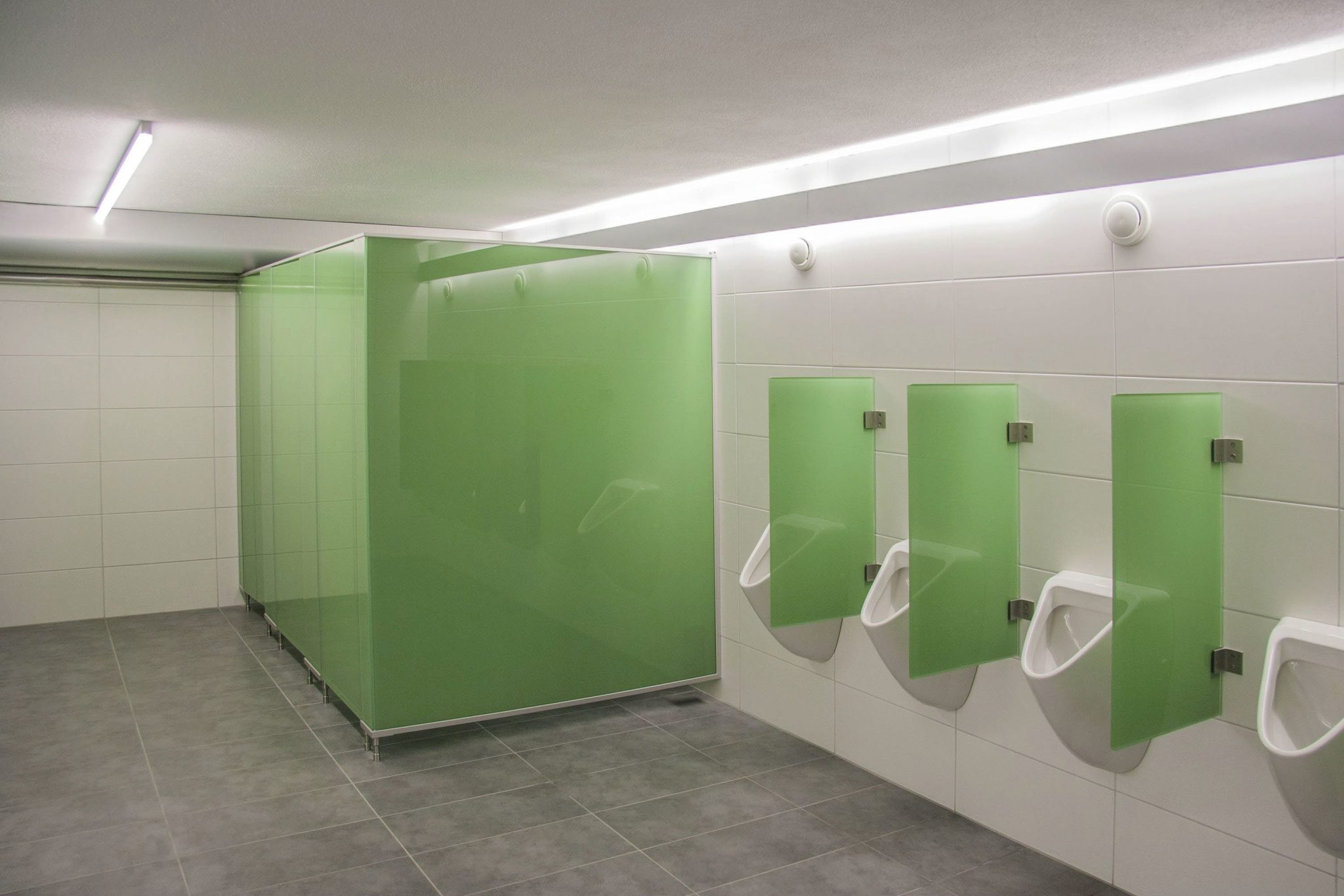 Toilet Cubicles Reusable Walling Systems
